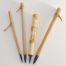 """1.5"""" Goat brush bristle set with bamboo cane and wangi bamboo handles"""