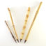 Brown Synthetic bristle set, with bamboo cane and wangi bamboo handless