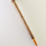 Large Orange Synthetic, with bamboo cane handle
