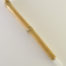 "Large size 1"" bristle length Soft White Synthetic, with bamboo cane handle."