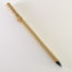 Large size 1 inch bristle length Goat Synthetic blend brush with bamboo cane handle.