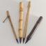 """1"""" Goat brush bristle set with bamboo cane and wangi bamboo handles"""