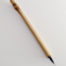 1 inch bristle length Goat Synthetic blend brush with bamboo cane handle.