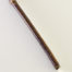 "Small size 1"" bristle length Stiff White Synthetic, with bamboo cane handle."