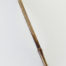 "½"" long Brown Synthetic bristle, with bamboo cane handle"