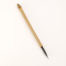 "2"" Goat-Synthetic blend bristle with bamboo cane handle."