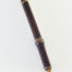 """Medium Siberian Elk ½"""" long bristle with Bamboo cane handle. Unmatched for any water based media or ink."""